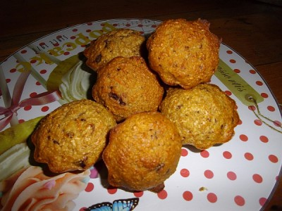 Carrot Muffin chocolat & dattes.