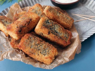 Fish sticks – bâtonnets de poisson pané – vegan