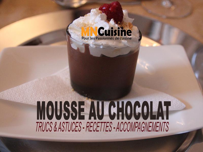 8 recettes de mousse au chocolat noir, blanc, au lait et sans œufs