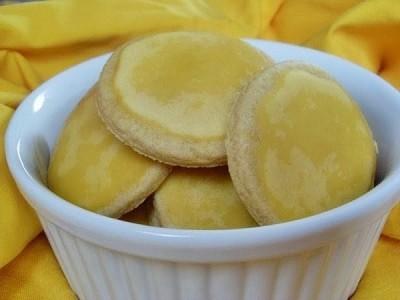 Sablés au citron (Vegan)