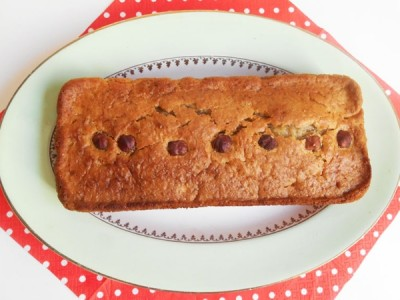 Cake aux châtaignes d'Ardèche (Vegan)