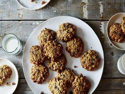 Biscuits détox aux flocons d'avoine