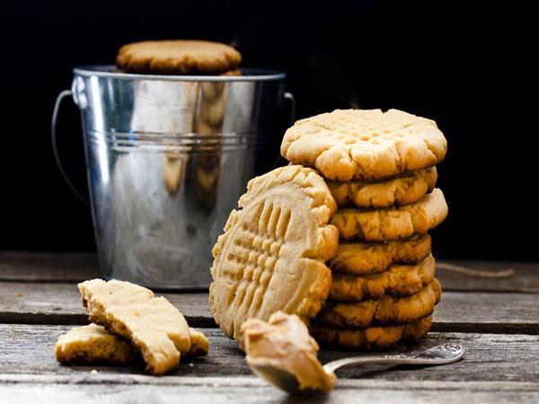 Cookies express à la purée de cacahuètes