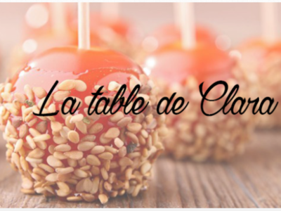 Interview de Sylvie du blog «La table de Clara»